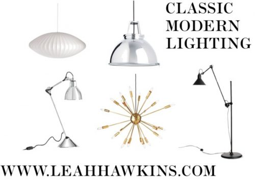 Classic Modern Lighting