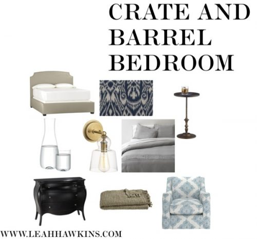 Crate and Barrel Bedroom