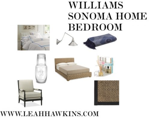 Williams Sonoma Home Bedroom