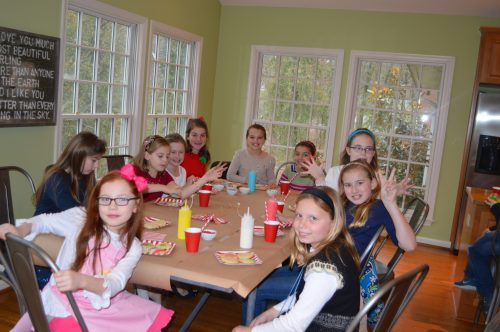 Girl Scout Cookie Party